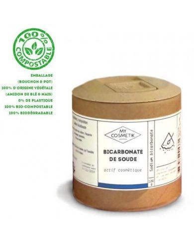 Bicarbonate de soude - 100 g - en pot végétal Bio - MyCosmetik
