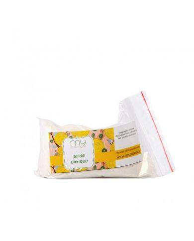 Acide citrique 50 g - Agent acidifiant diminue le pH des préparations - MyCosmetik