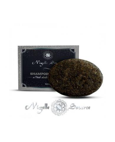 Shampoing Solide à la Nigelle d'Éthiopie - 90g - 100% Naturel - Nigelle Source