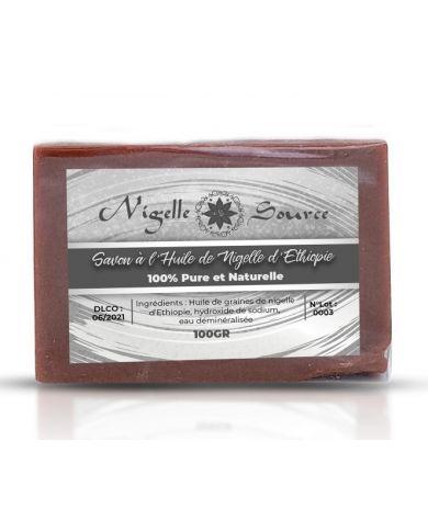 Savon 100% à l'Huile de Nigelle d'Éthiopie (Habachiya) - 100g - Nigelle Source