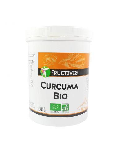 Curcuma Bio en poudre 500g - Fructivia