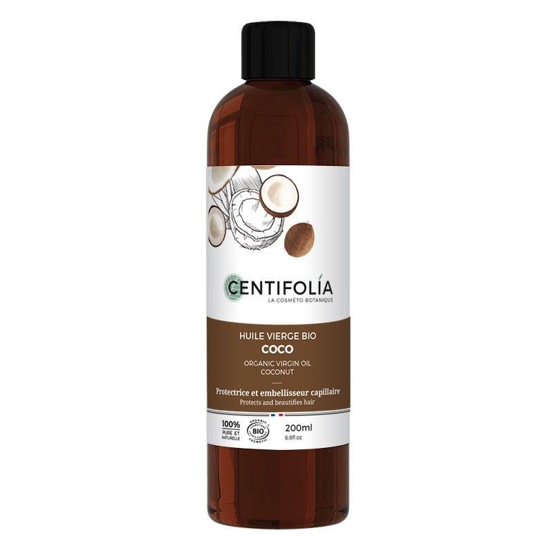 Huile de Coco Bio Vierge & Pure - 200 ml - Centifolia