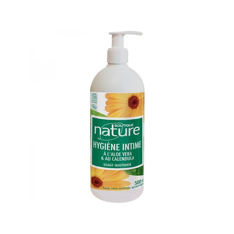 Gel Bio pour Hygiène Intime à l'Aloe Vera et au Calendula - 500 ml - Boutique Nature