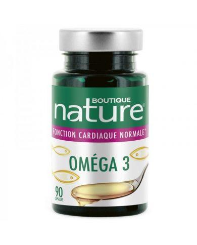 Oméga 3 - 90 capsules marines - 500mg - Boutique Nature