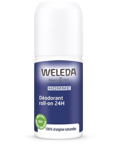 Déodorant roll-on 24h pour Homme - 100% Naturel - Weleda