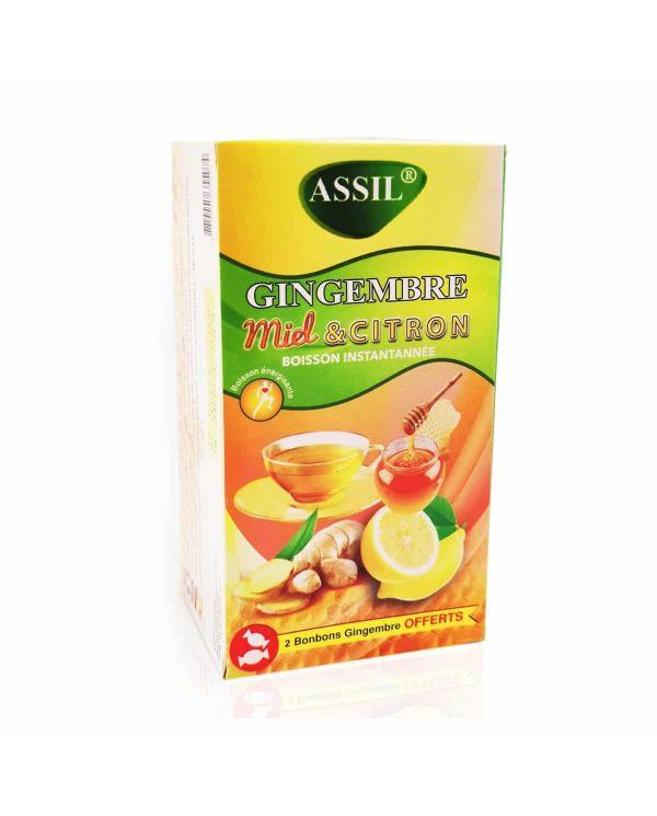Tisane Gingembre Miel & Citron - 100% Naturelle - ASSIL