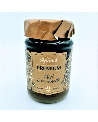 Miel à la Nigelle (Habba Sawda) - 100% naturel - 270g - Apimel Premium