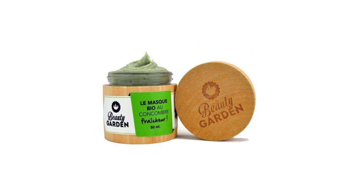 Masque Bio Fraîcheur Concombre - 50 ml - Beauty Garden