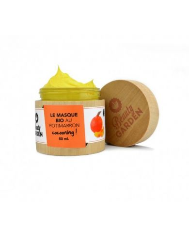 Masque Bio Cocooning Au Potimarron - 50 ml - Beauty Garden