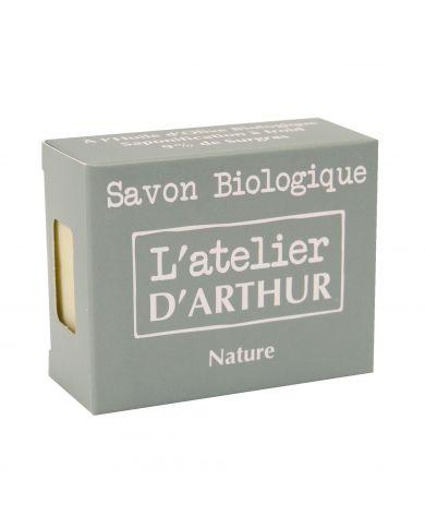 Savon à l'huile d'Olive Bio - Nature - 100g - L'Atelier d'Arthur