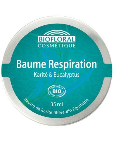 Baume Respiration Bio au Karité & Eucalyptus - 35 ml - Biofloral