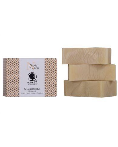 Savon Ultra Doux Bio - Nuage de Coco - 100 g - Noire Ô Naturel