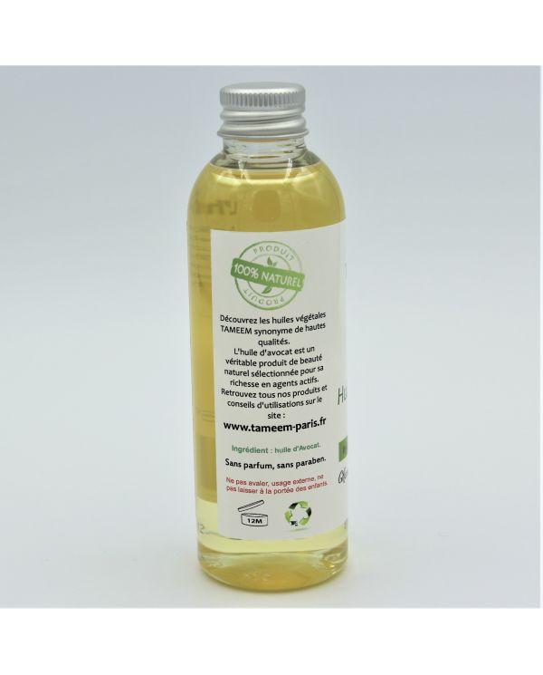 Huile d'Avocat (Avocado Oil) - 100 ml - 100% Naturelle - Tameem