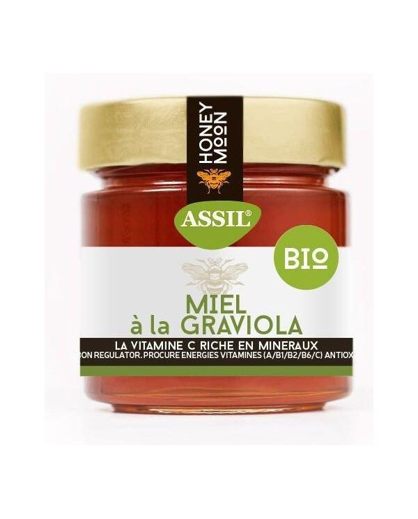 Miel à la Graviola (Corossol) BIO 350g - ASSIL