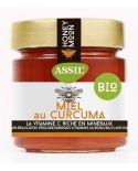 Miel au Curcuma BIO 350g - ASSIL