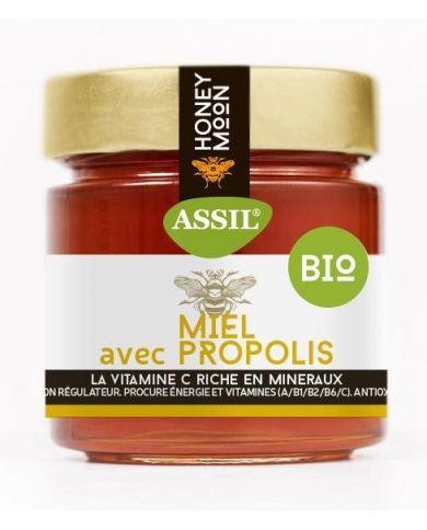 Miel avec Propolis BIO 350g - ASSIL