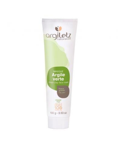 Argile Verte (Masque) - Peaux grasses - 100g - 100% naturelle - Argiletz