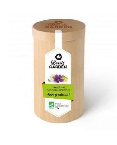 Tisane Bio des Gens Heureux Anti grincheux (Mauve, Camomille, Tilleul) - 18g - Beauty Garden