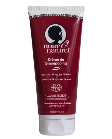 Crème de Shampooing - cheveux bouclés, frisés, crépus ou défrisés - 200 ml - Noire Ô Naturel
