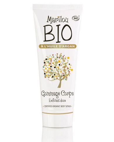 Gommage Bio Exfoliant pour le Corps à l'Huile d'Argan - 100 ml - Marilou Bio