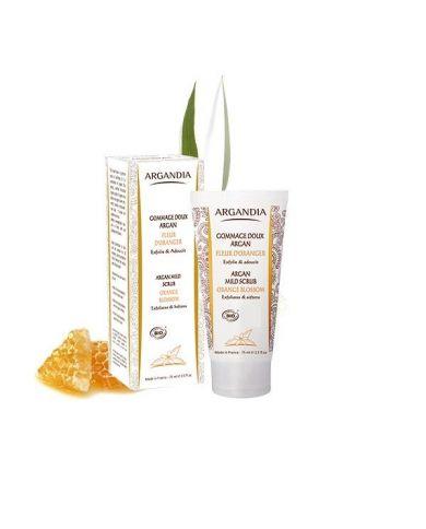 Gommage Doux Argan Fleur d'Oranger - 75 ml - Argandia