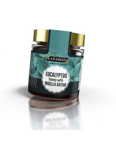 Miel d'Eucalyptus et Nigelle (Habba sawda) - 100% naturel - Karamats