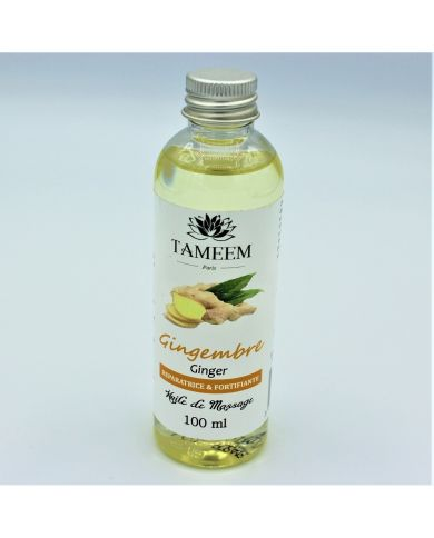 Huile de Gingembre (Ginger Oil) - 100 ml - 100% Naturelle - Tameem