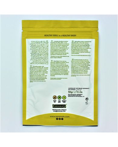 Pollen de Palmier en poudre - 100% naturel - 50g - Super Food - Karamats
