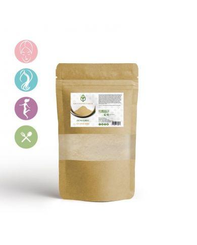 Fenugrec en poudre - 200g - 100% Naturelle - KB Cosmétique