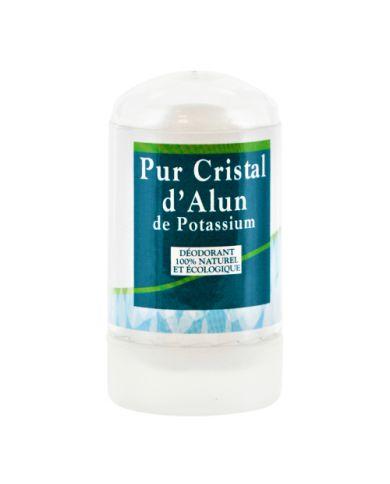 Pierre d'Alun de Potassium - 60g - Déodorant 100% Naturel & Écologique - Physio-Concept
