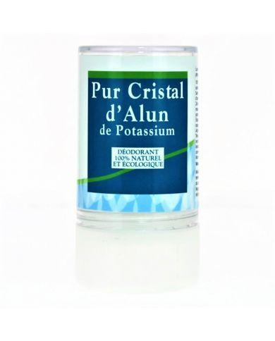 Pierre d'Alun de Potassium - 120g - Déodorant 100% Naturel & Écologique - Physio-Concept