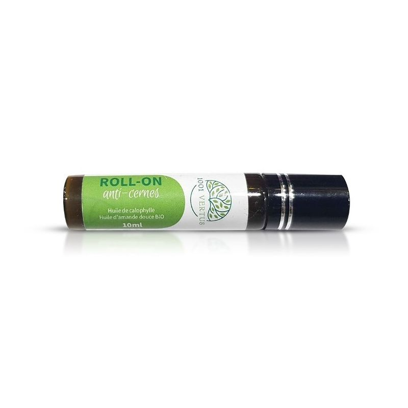 Roll-On Anti-cernes (Huile de Calophylle et d'amande douce Bio) - 10ml - 1001vertus