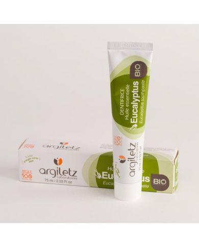 Dentifrice Eucalyptus Bio - 75 ml - Argiletz