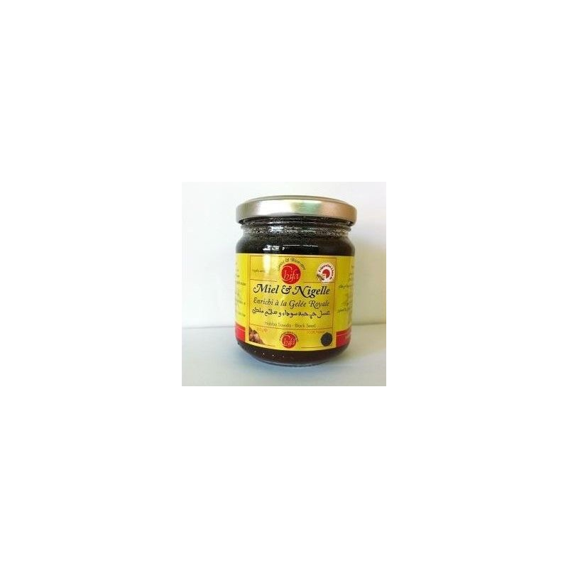 Miel à la Nigelle et à la Gelée Royale - 100% Naturel - 250g - Chifa