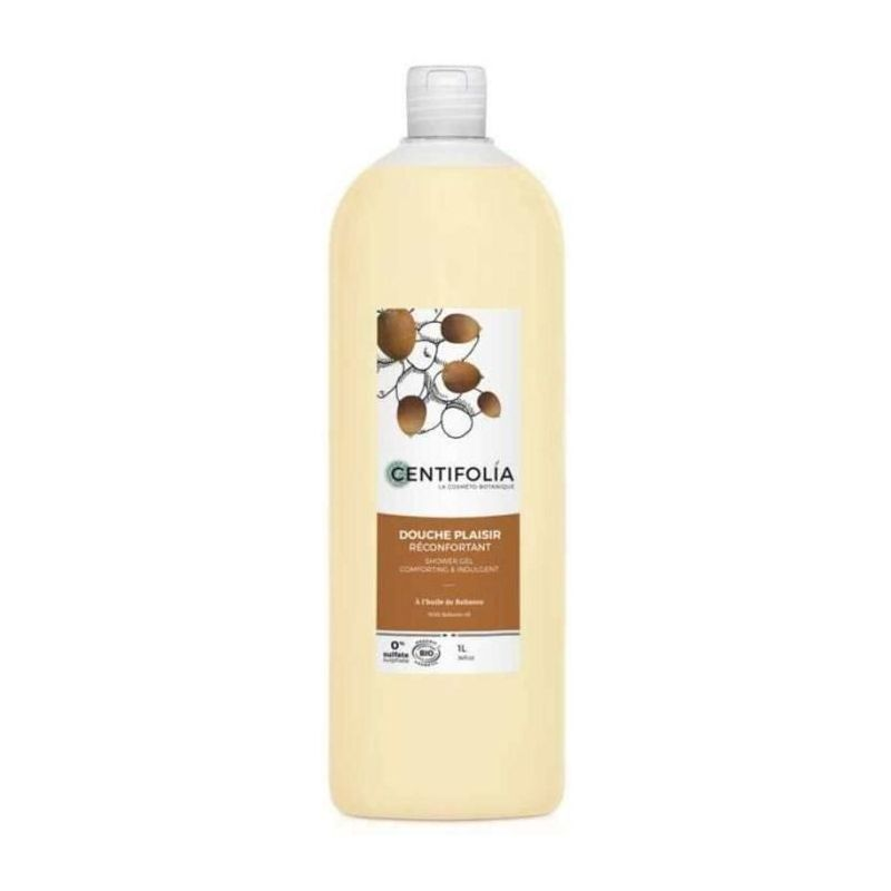 Gel Douche Plaisir Réconfortant Bio - À l'huile de Babassu - 1L - Centifolia