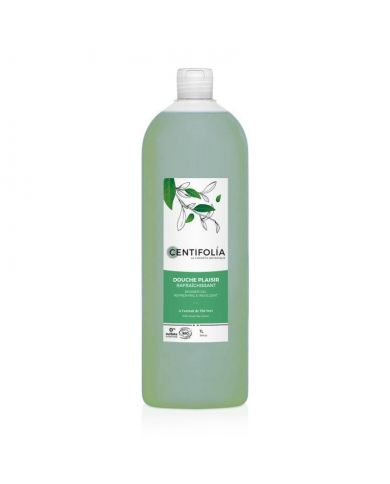 Gel Douche Plaisir Rafraîchissant Bio - Thé Vert - 1L - Centifolia