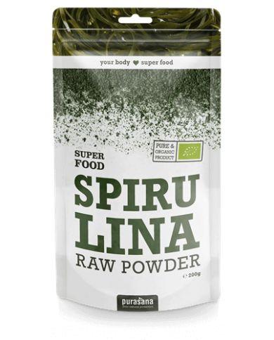 Poudre de Spiruline Bio - 200g - Super Food - Purasana