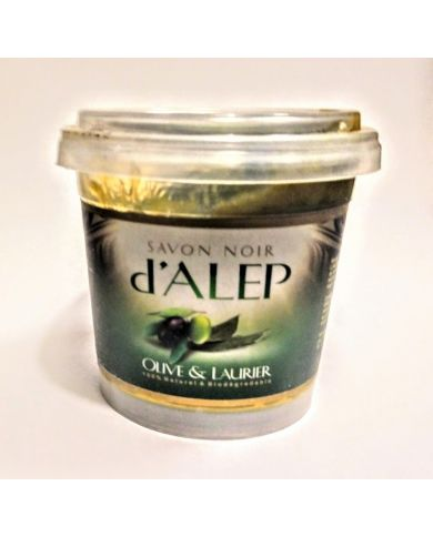 Savon Noir d'Alep - Olive & Laurier - 100% Naturel & Biodégradable - H&S France