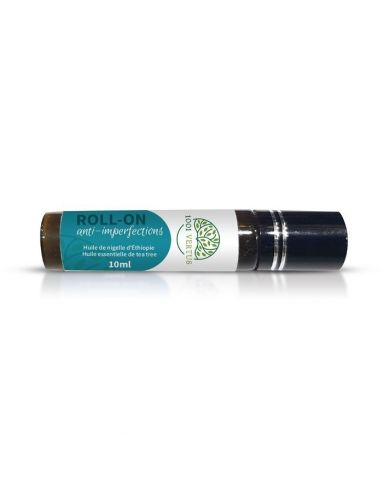 Roll-On Anti-imperfections (Huile de Nigelle & Tea Tree) - 100% Naturel - 1001 Vertus
