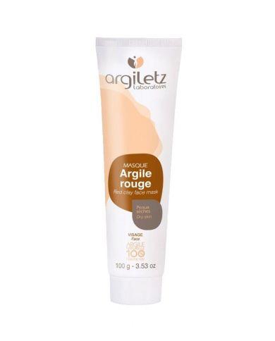 Argile Rouge (Masque) - Peaux sèches - 100g - 100% naturel - Argiletz