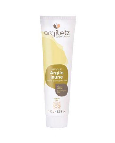 Argile Jaune (Masque) - Peaux mixtes - 100g - 100% naturel - Argiletz
