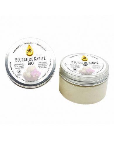 Beurre de Karité Bio - Non raffinée du Ghana - 100g - Wadi Shibam