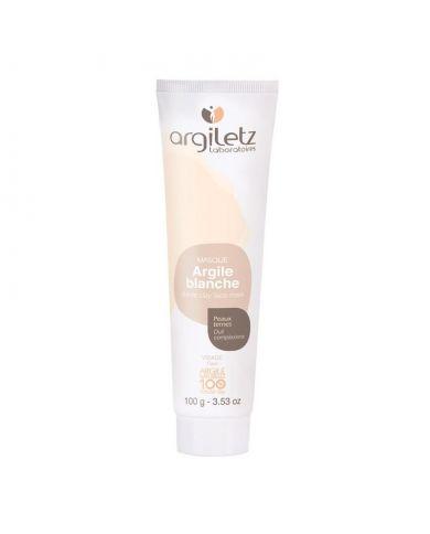 Argile blanche (Masque) - Peaux ternes - 100g - 100% naturel - Argiletz