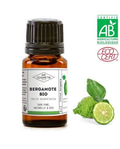 Huile essentielle de bergamote BIO (AB) 10 ml - MyCosmetik