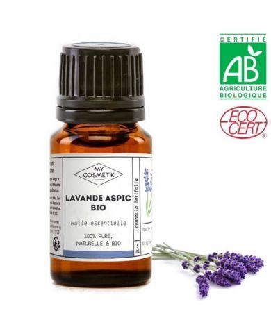 Huile essentielle de lavande Aspic BIO (AB) 10 ml - MyCosmetik
