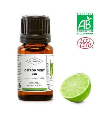Huile essentielle de Citron vert BIO (AB) 10 ml - MyCosmetik