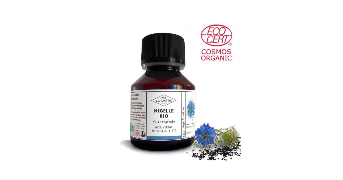 Huile de Nigelle BIO (Habba Sawda - Cumin Noir) d'Egypte 125 ml & 500 ml - MyCosmetik