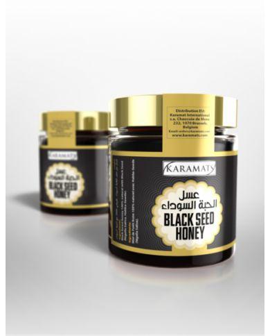 Miel de Forêt Noire et Graine de Nigelle 250g - 100% Naturel - Karamats