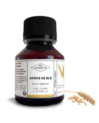 Huile de Germe de Blé 125 ml - 100% Naturelle - MyCosmetik