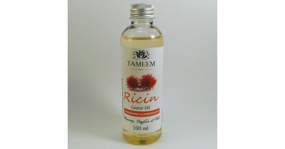 Huile de Ricin (Castor Oil) - 100 ml - 100% Naturelle - Tameem